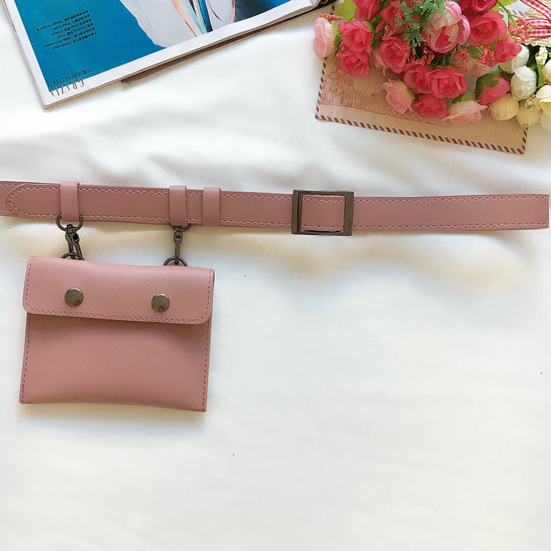 Bags Pink / 102CM Pack fashion belt