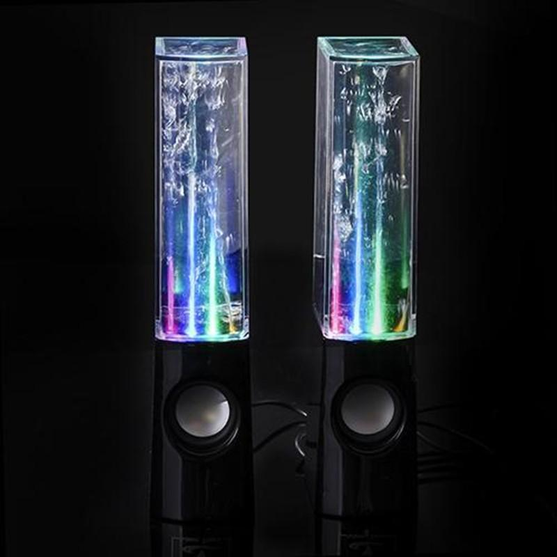 Electronics Black Dancing LED  Water Speakers