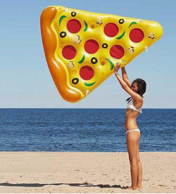 Gift Inflatable Mattress Pizza  Pool Float Inflatable Mattress Pizza  Pool Float