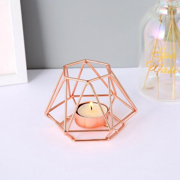 Home Decor Geometric Tea light holders