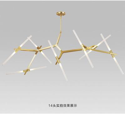 Home Decor Gold / 20 Modern fashion and creative branch LED lamps