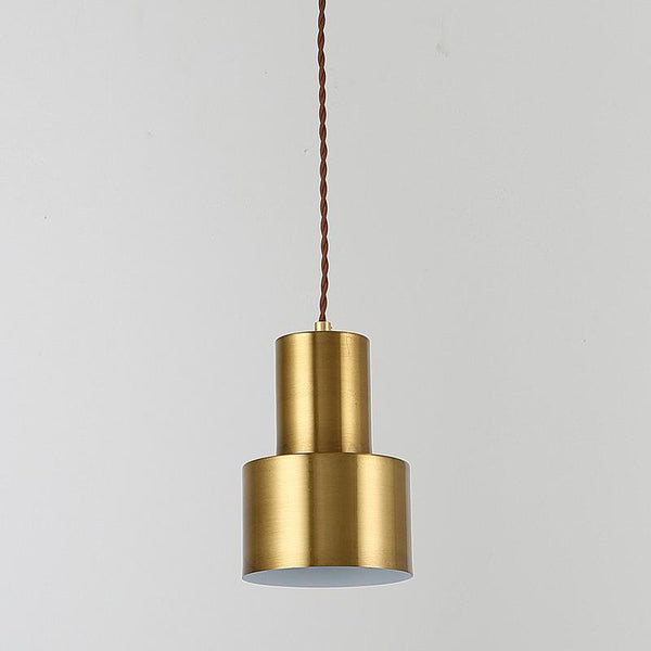 Home Decor Gold Minimalist creative chandelier at bedroom