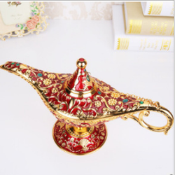 Home Decor Gold red Craft ornament