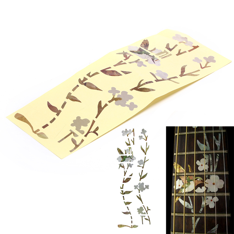Home Decor M01015 Guitar sticker
