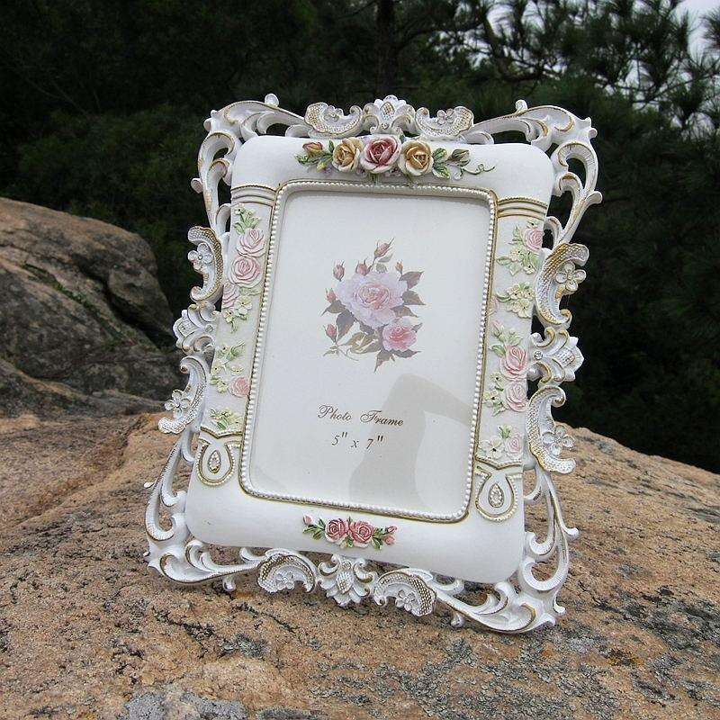 Home Decor Picture color / 7inches Pastoral style diamond frame