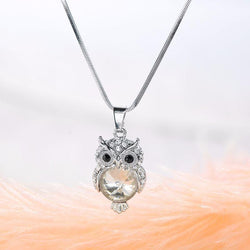 Jewelry Fashion Owl Pendant Necklace
