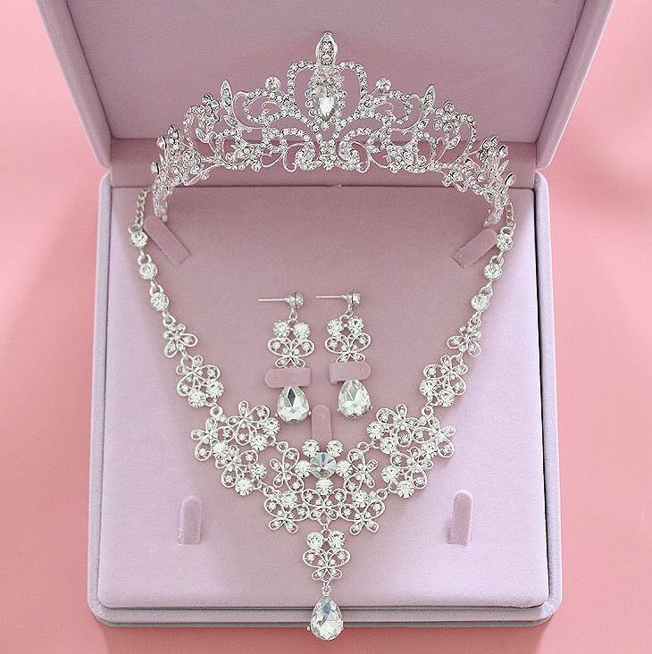 Jewelry Set New bride necklace headdress wedding accessories butterfly necklace jewelry New bride necklace headdress wedding accessories butterfly necklace jewelry