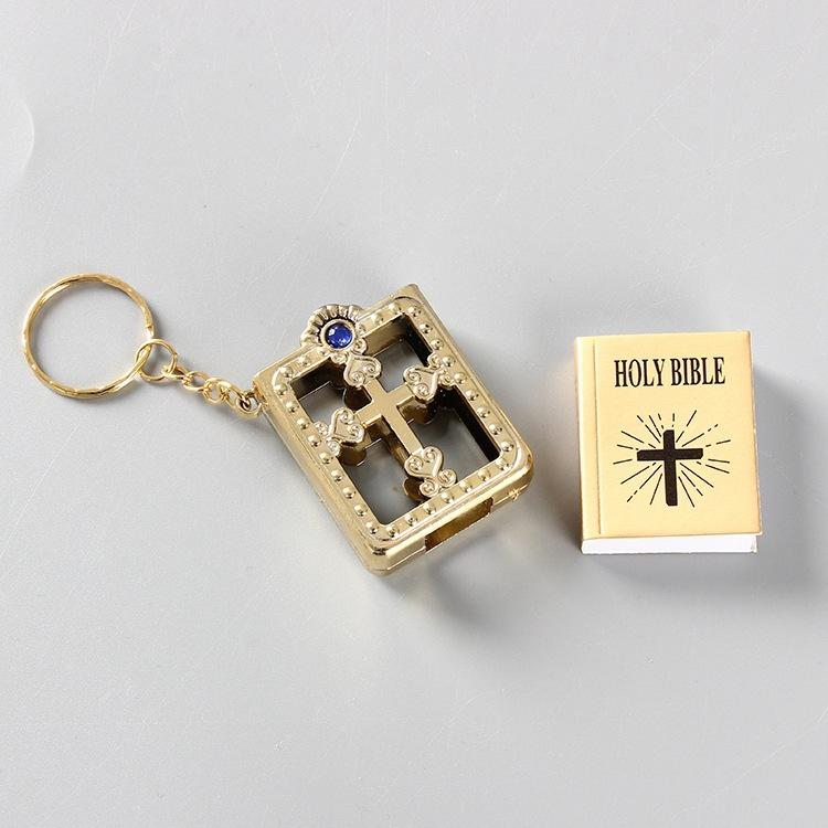 Key Chain Mini Pocket Edition Bible Keychain