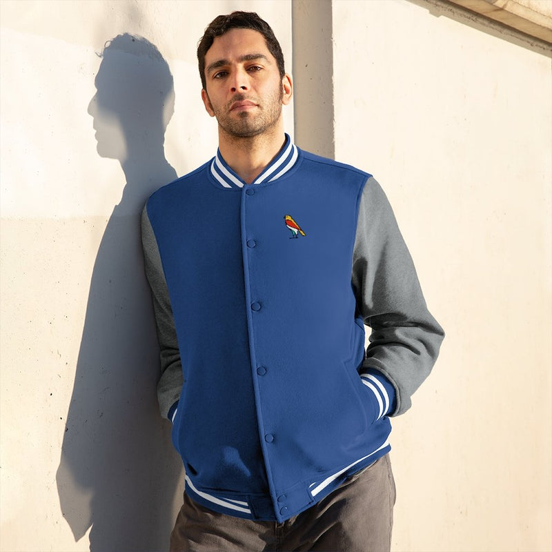 Long-sleeve S Factor Enterprise Men's Varsity Jacket