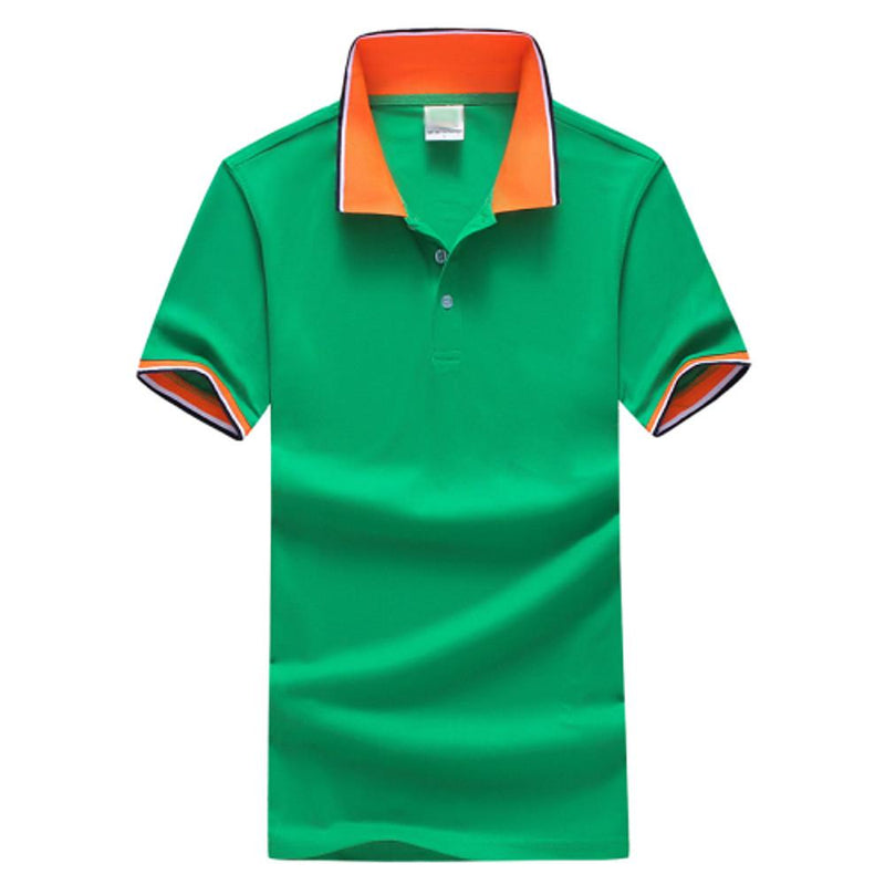 Men Fashion Green / S Men's Daily Sports Plus Size Slim Polo -