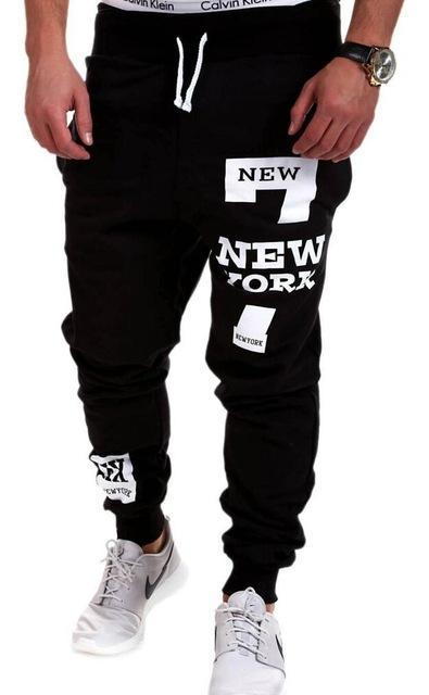 Men's Clothing Black / 3XL Mens Joggers