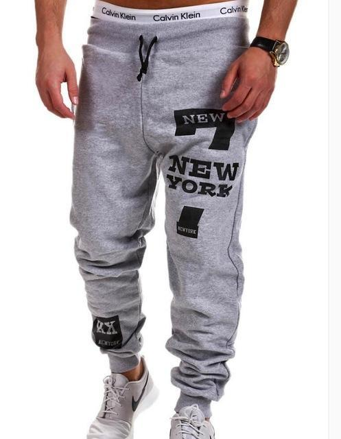 Men's Clothing Light gray / L Mens Joggers