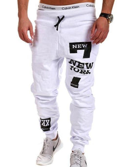 Men's Clothing White / 2XL Mens Joggers