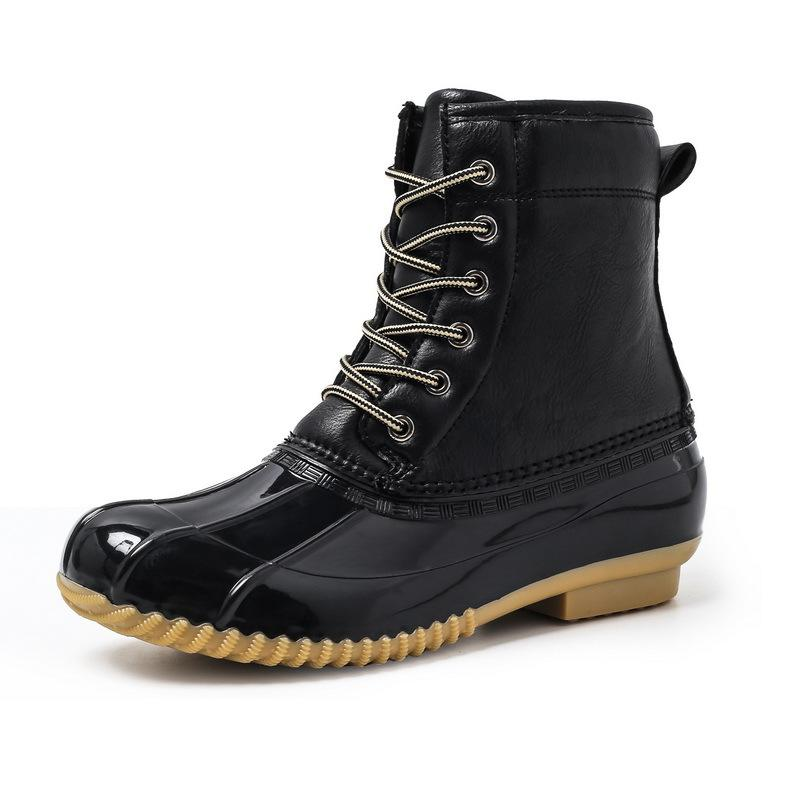 Men Shoes Black / 39 Waterproof non-slip boots