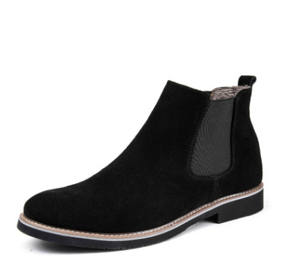 Men Shoes Black with fur / 38 Warm cotton shoes