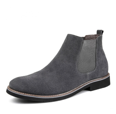 Men Shoes Gray with fur / 42 Warm cotton shoes