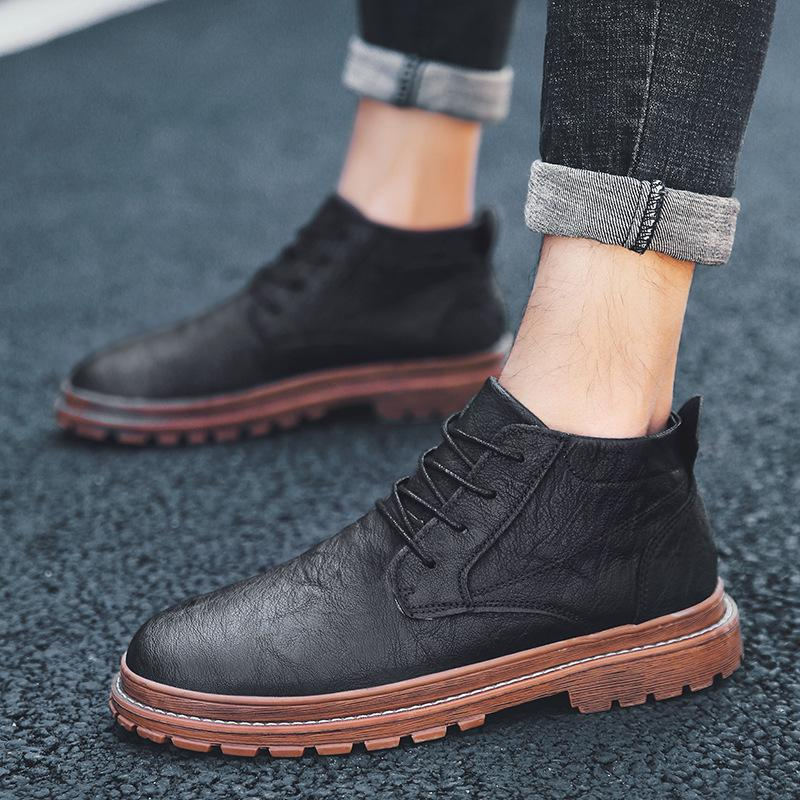 Men Shoes LEROY LEATHER BOOTS