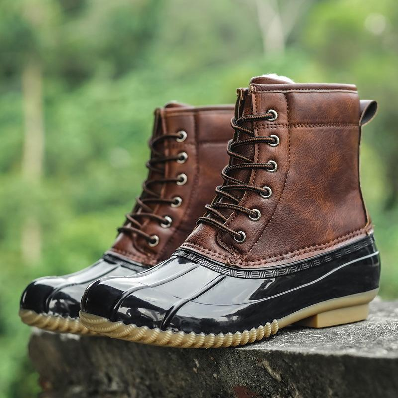 Men Shoes Waterproof non-slip boots