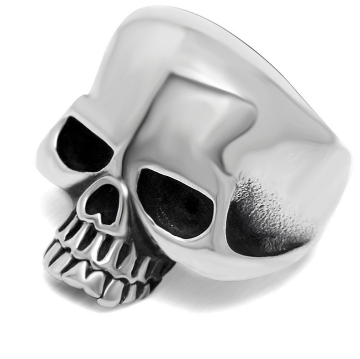 Rings Silver / 10 Jawless Skull Ring