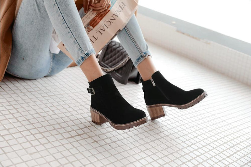 shoes Fashion wild short boots