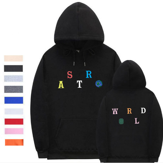 Sweater Black / XXL Streetwear Multiple styles Astroworld Sweater
