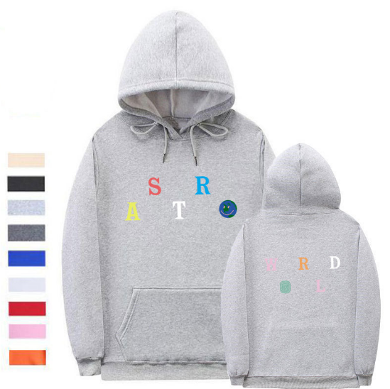 Sweater Grey / L Streetwear Multiple styles Astroworld Sweater