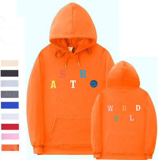 Sweater Orange / L Streetwear Multiple styles Astroworld Sweater