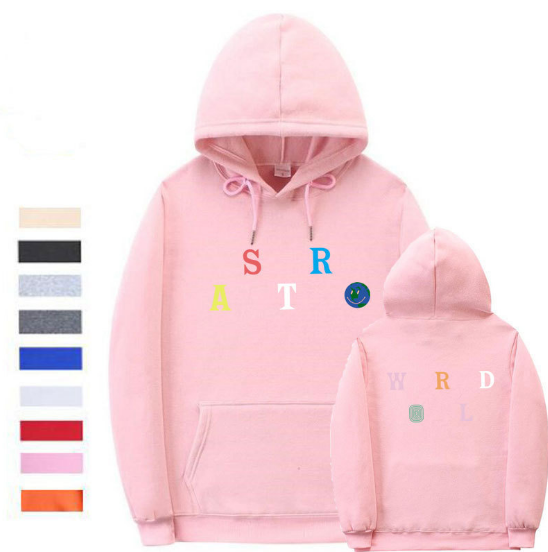 Sweater Pink / L Streetwear Multiple styles Astroworld Sweater