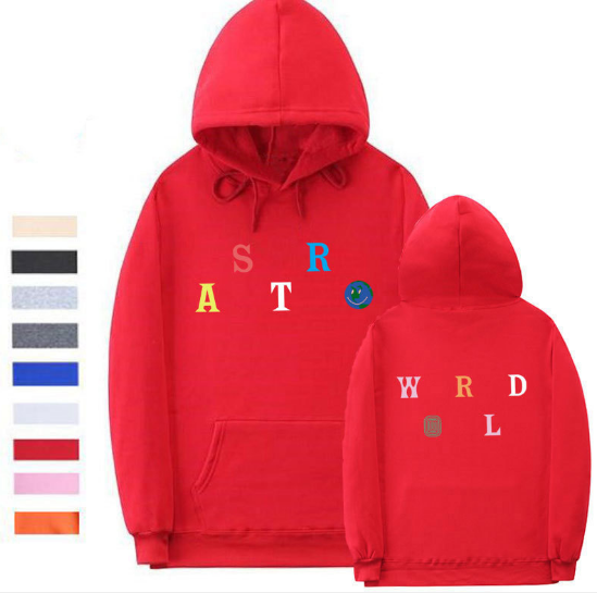 Sweater Red / L Streetwear Multiple styles Astroworld Sweater