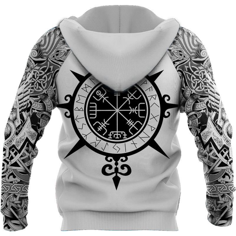 Sweater Viking Tattoo All-Over Print Hoodie