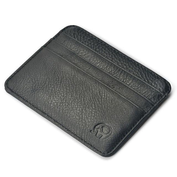 Wallet Black Genuine Leather Magic Wallet