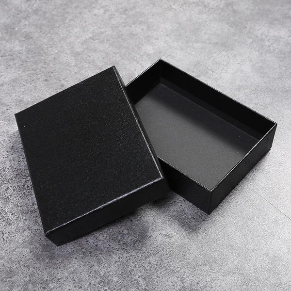 Wallet Long wallet box Beautiful black gift box