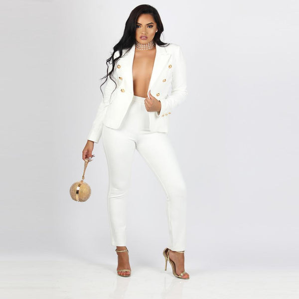 Women Clothing Check Me Out  Suit Set