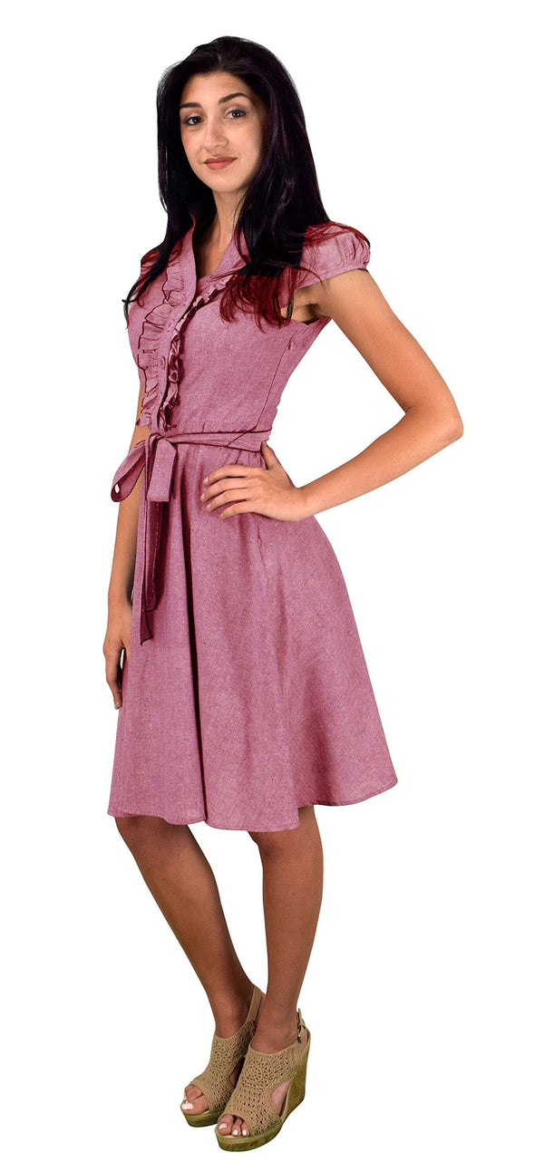 Women Clothing Vintage  Peach Couture