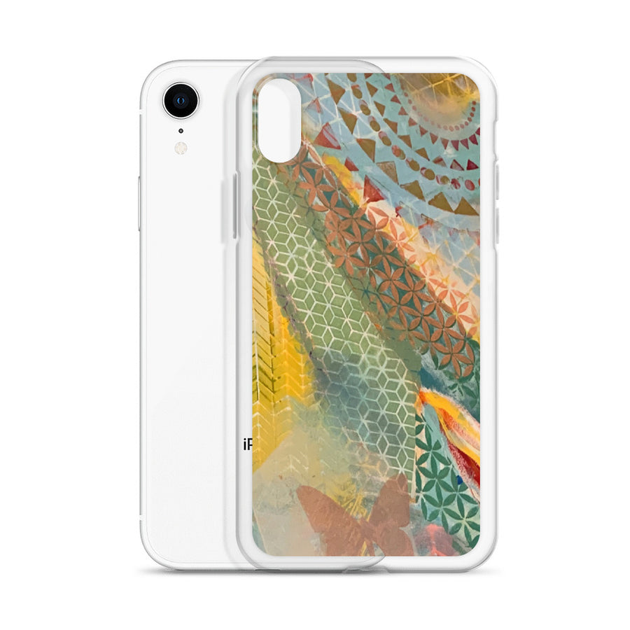 Living Grid iPhone Case