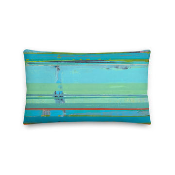 Below the Surface Rectangular Pillow