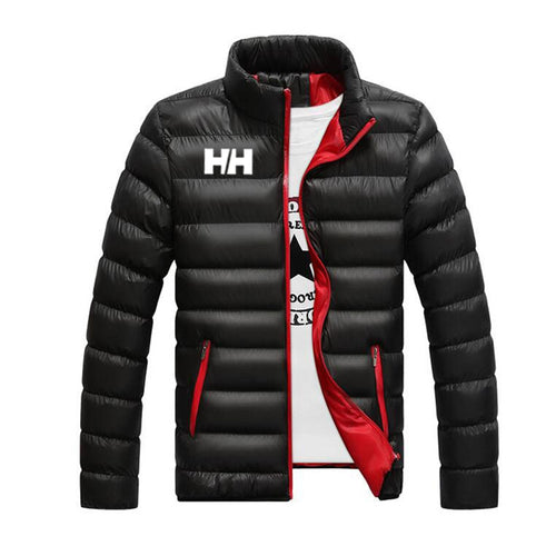 2019 Winter Coat Men Jacket Warm Cotton Jacket Coats Stand Collars Zippers Men Clothes HH Mens Winter Jacket