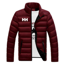 Load image into Gallery viewer, 2019 Winter Coat Men Jacket Warm Cotton Jacket Coats Stand Collars Zippers Men Clothes HH Mens Winter Jacket