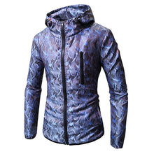 Load image into Gallery viewer, Hoodies Men Long Sleeve Camouflage Color Hooded Sweatshirt Male Hoodie Casual Loose Zipper Sweatshirt Warm Outwear