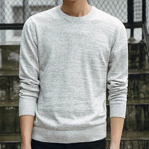 Men Sweaters 2019 Autumn Winter Fashion Casual Slim Fit Cotton Knitted Mens Sweaters Pullovers Men Brand Clothing Knitwear