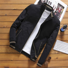 Load image into Gallery viewer, Mountainskin Jackets Mens Pilot Bomber Jacket Male Fashion Baseball Hip Hop Streetwear Coats Slim Fit Coat Brand Clothing SA681