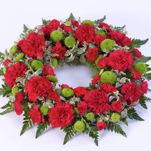 Wreath (Red & Green)