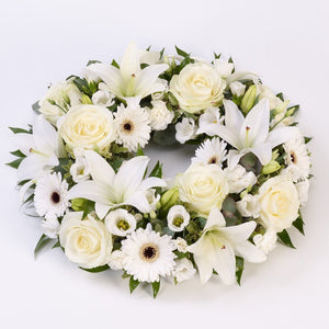 Wreath (White)