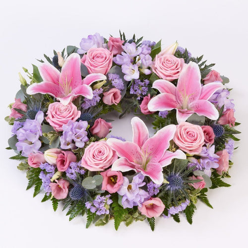 Wreath (Pink & Lilac)