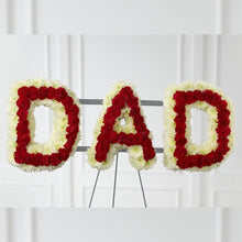 Load image into Gallery viewer, Dad Arrangement (White & Red)