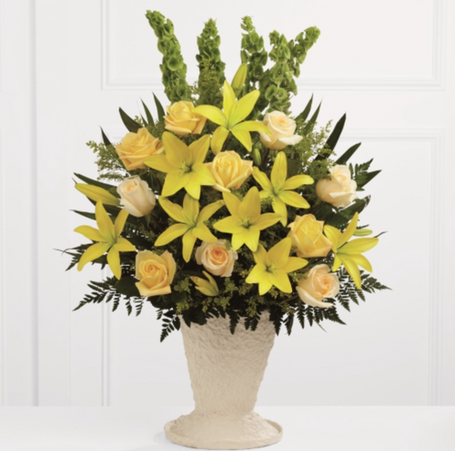 Arrangement (Yellow)