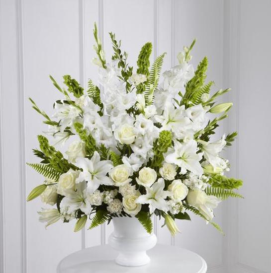 Arrangement (White & Green)