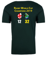 World Champions Tee - Unisex short sleeve green tee
