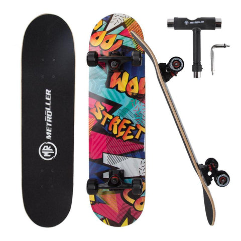 Skateboard complete for Beginners + Free Bag +Free Skate Tool - Skate Planet Thailand