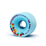 Orangatang Fat Free, 65mm 77a blue - Skate Planet Thailand